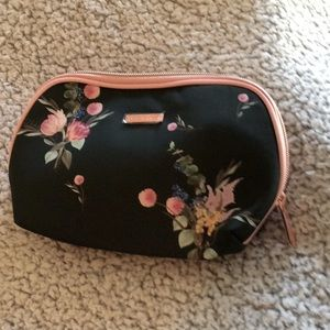 Ted Baker floral fabric cosmetic purse